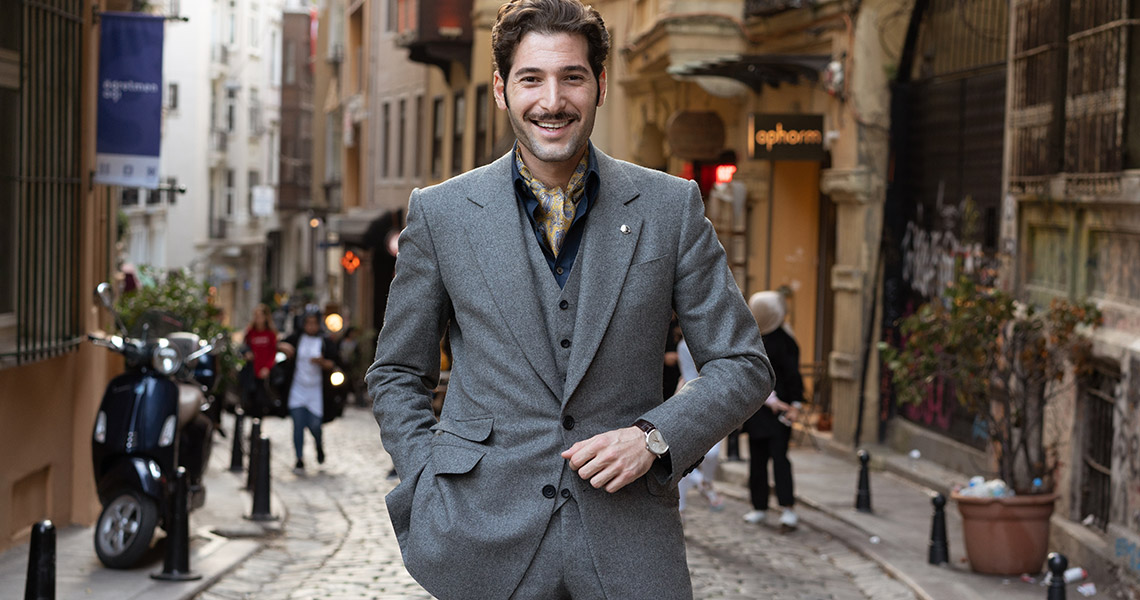 The Elegance of The Grey Flannel Suit